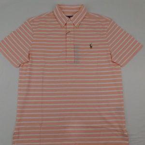 Polo Ralph Lauren Knit Oxford Polo Shirt Peach L